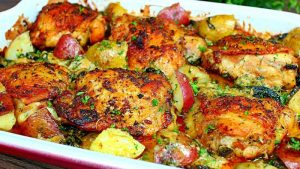 3 أكلات سريعة التحضير وسهلة بالبطاطس ودجاج