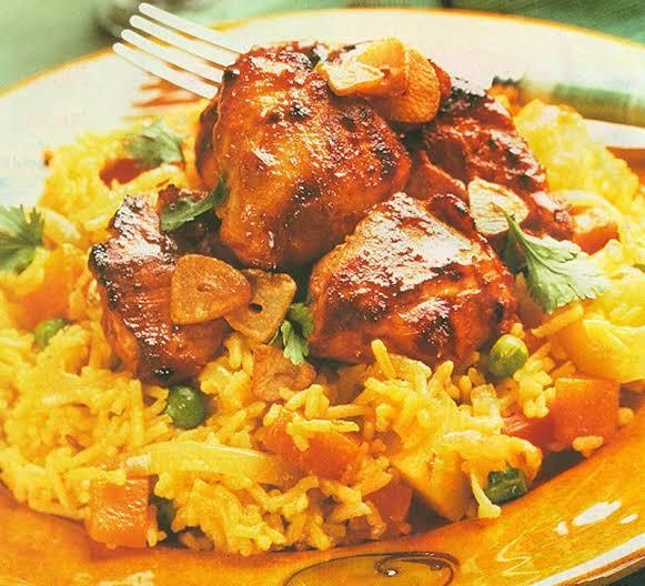 ارز البسمتى بالدجاج