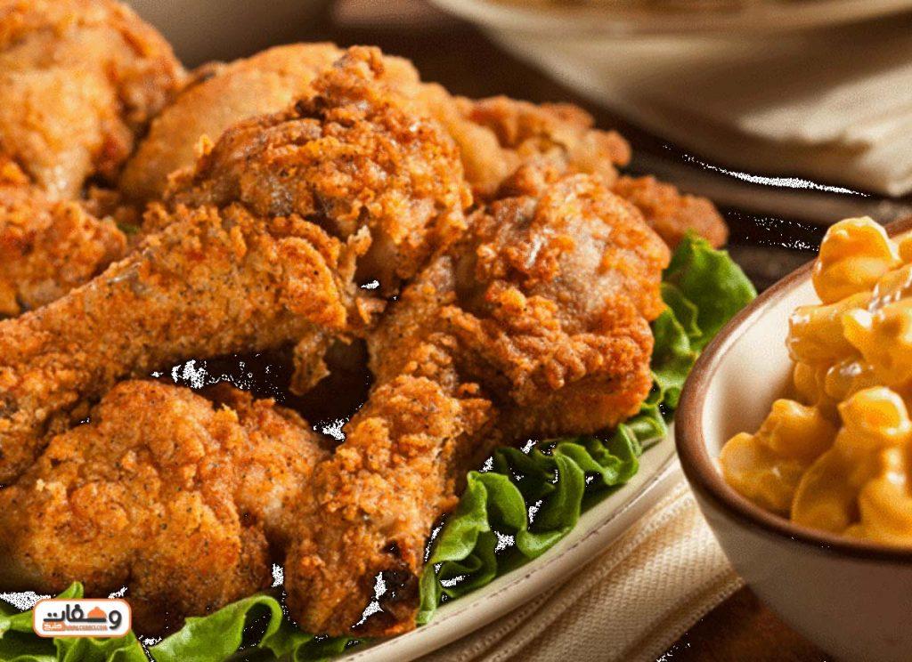 طريقة عمل دجاج كنتاكى بالقلي