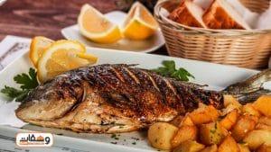 طريقة عمل صينية سمك بالفرن بـ 5 انواع سمك