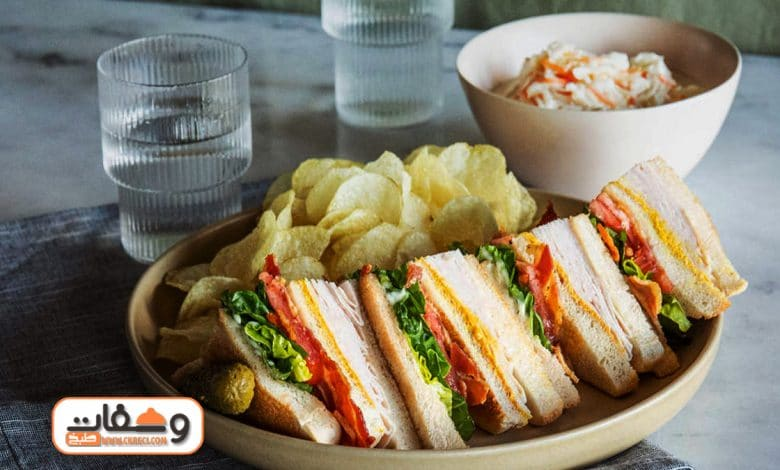 طريقة عمل كلوب ساندوتش club sandwich في 5 دقائق